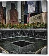 North Tower Memorial Canvas Print