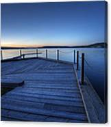 Northern Lake Evening Canvas Print