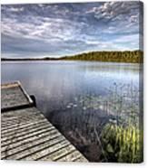 Northern Saskatchewan Lake Canvas Print