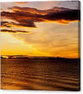 Northern Sunset Canvas Print