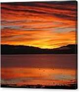 Northshore Sunrise Tahoe 2 Canvas Print