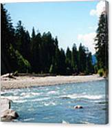 Northwest River Canvas Print