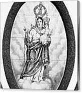 Nossa Senhora Da Paz Canvas Print