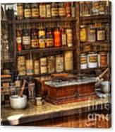 Nostalgia Pharmacy 2 Canvas Print