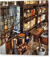 Nostalgia  Pharmacy Canvas Print