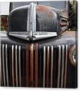 Nostalgic Rusty Old Ford Truck . 7d10281 Canvas Print