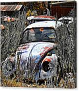 Not Herbie The Love Bug Canvas Print
