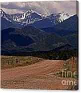 'nother Road Canvas Print