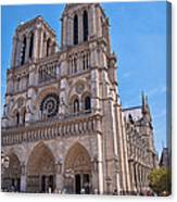 Notre Dame Cathedral Paris France Canvas Print