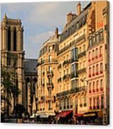 Notre Dame De Paris 3 Canvas Print