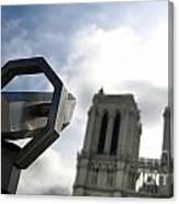 Notre Dame De Paris. France Canvas Print