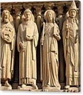 Notre Dame Details 1 Canvas Print
