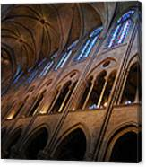 Notre Dame Interior Canvas Print