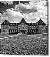 Notre Dame Seminary Monochrome Canvas Print