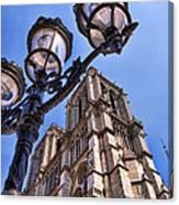 Notre Dame Tower Canvas Print