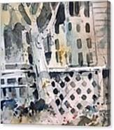 November Moonlight Canvas Print