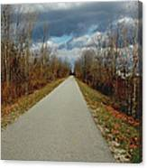 November On Macomb Orchard Trail Canvas Print
