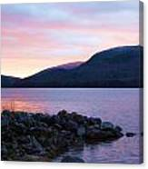 November Sunrise Canvas Print
