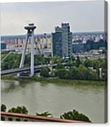 Novy Most Bridge - Bratislava Canvas Print
