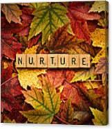 Nurture-autumn Canvas Print