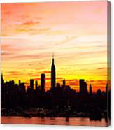 Ny Saturday Sunrise Canvas Print