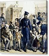 Ny Slum Children, 1864 Canvas Print