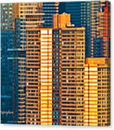 Nyc Colors And Lines IIi Canvas Print
