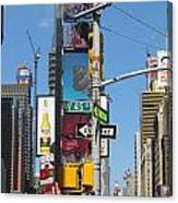 Nyc Directions Canvas Print