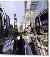 Nyc Impression Canvas Print