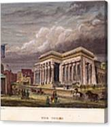 Nyc: The Tombs, 1850 Canvas Print