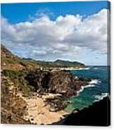 Oahu Coastal Getaway Canvas Print