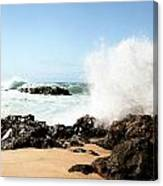 Oahu North Shore Breaker Canvas Print