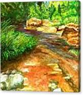 Oak Creek Red Canvas Print