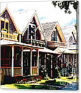 Oaks Bluff Martha's Vineyard Canvas Print