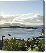 Oban Bay View Canvas Print