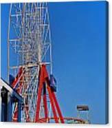 Oc Winter Ferris Wheel Canvas Print