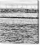 Ocean City Bridge Canvas Print