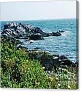 Ocean Drive Newport Ri Canvas Print