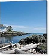 Ocean Front Living Canvas Print