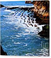 Ocean Lines Canvas Print
