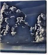 Ocean Rains Canvas Print