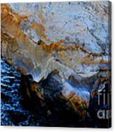 Shell Beach Ocean Tunnel Canvas Print