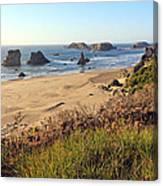 Bandon Oregon Shorelines Canvas Print