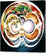 Oceana Orb Canvas Print