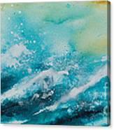 Ocean's Melody Canvas Print