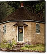 Odd Little House Canvas Print