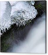 Of Ice And Water Canvas Print