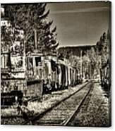 Off Track Canvas Print