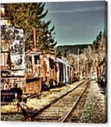 Off Track II Canvas Print