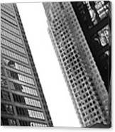 Office Buildings Canvas Print